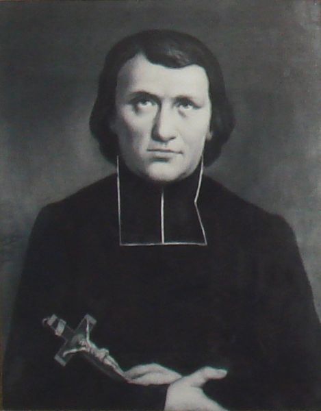 1860 painting of St. Jean-Louis Bonnard. Photo taken by PHGCOM