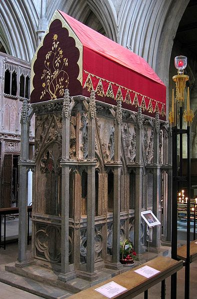 Shrine of Saint Alban at St Albans Cathedral. Photo taken by Michael Reeve.