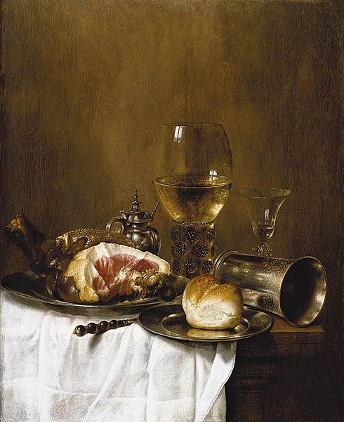 dinner by Willem Claeszoon Heda