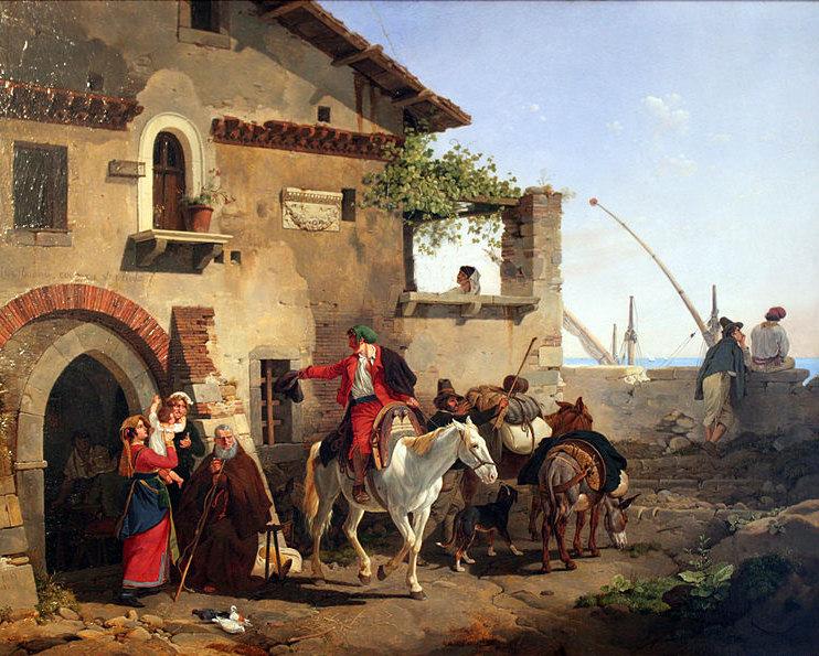 Italian Inn by Peter von Hess