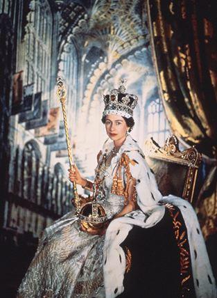 Coronation of Queen Elizabeth II.