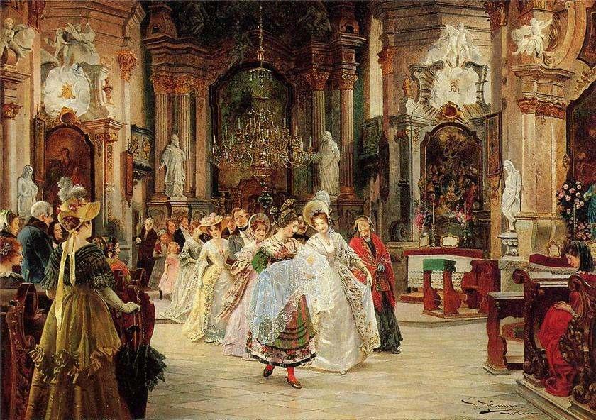 baptism by Johann Hamza