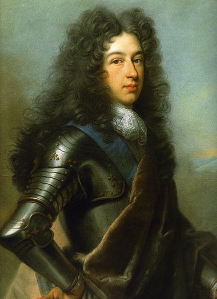 Painting of Louis of France, Duke of Burgundy by Joseph Vivien.