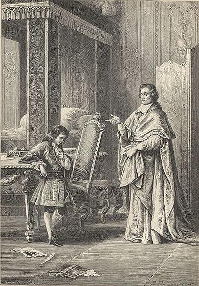 Archbishop François de Salignac de la Mothe-Fénelon & the Duke of Burgundy