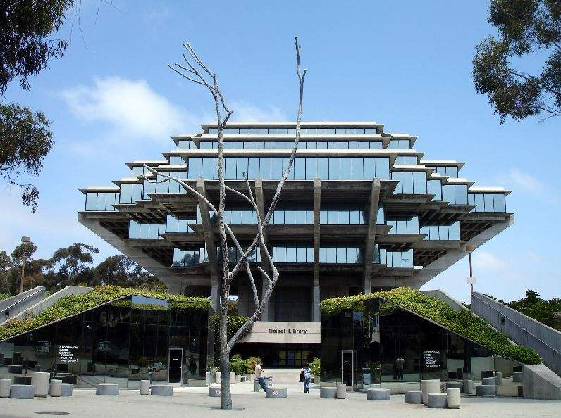 Library at UCSD