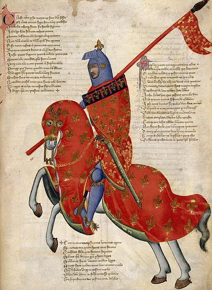A knight from Prato, Tuscany