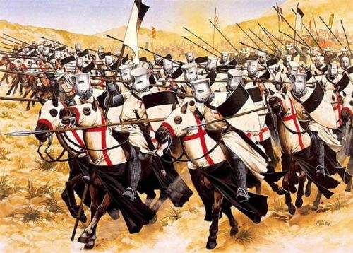 Templars at the Battle of Hattin