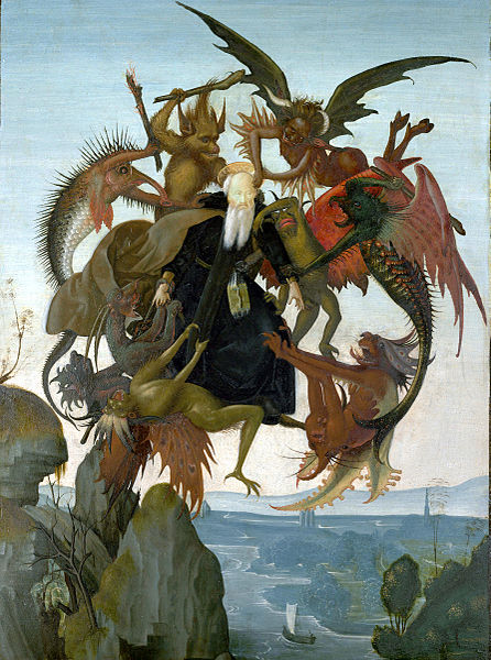 The Torment of Saint Anthony by Michelangelo