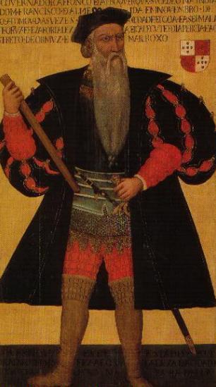 Afonso de Albuquerque, Duke of Goa.