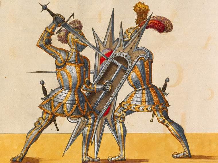knights combat