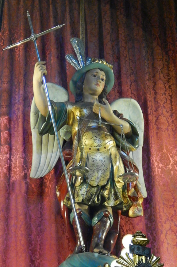 St. Michael weighing souls.