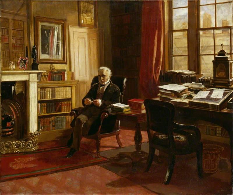 Baron Thomas Babington Macaulay, painted by Edward Matthew Ward. Photo by © National Portrait Gallery, London.