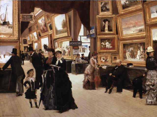 Art gallery by Édouard Joseph Dantan