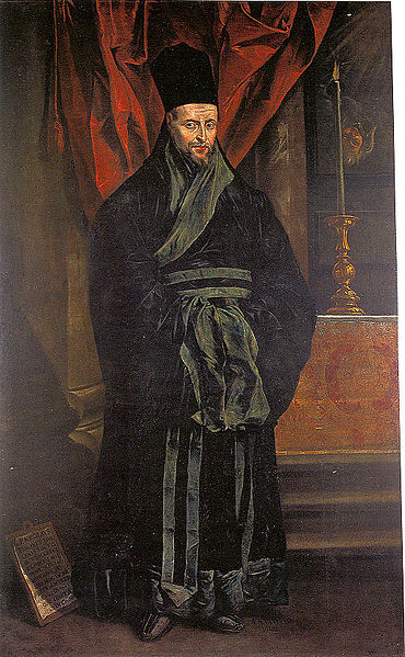 Father Nicolas Trigault, Jesuit missionary to China.