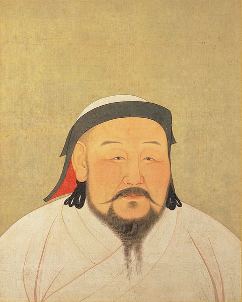 Kublai Khan, 5th Khagan of the Mongol Empire, 1st Emperor of the Yuan dynasty Emperor of China.