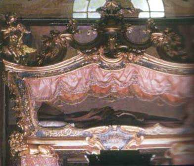 The relics of St. Joseph of Leonessa.
