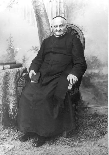 Photo of Saint Fr. Arnold Janssen, S.V.D. and founder of Society of the Divine Word. He was canonized on October 5, 2003.
