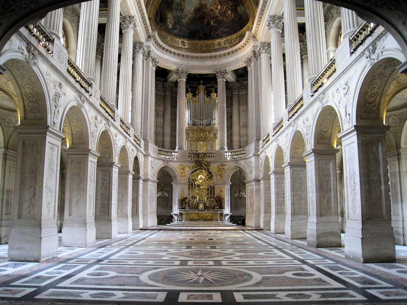 Royal Chapel, Palace of Versailles, France