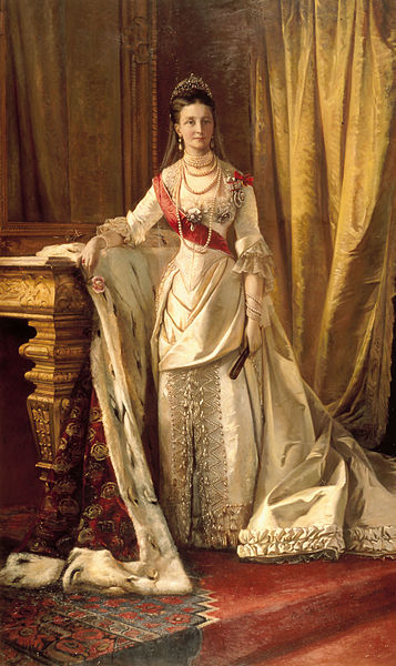 Louise of Hesse-Kassel (Louise Wilhelmine Frederikke Caroline Auguste Julie), Queen of Denmark 1863-1898.