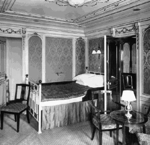 Photo of one of the first class rooms of section B.