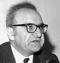 Roger Garaudy, the renowned French Marxist-Islamist theoretician. Photo from Archives fédérales allemandes.