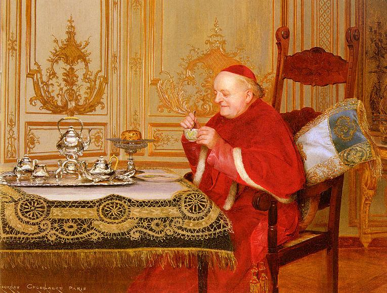 Teatime for the Cardinal