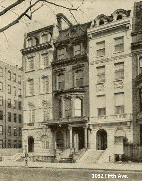 Countess Leary Fifth Avenue Mansion.
