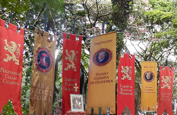 Some of the various TFP banners from around the world.