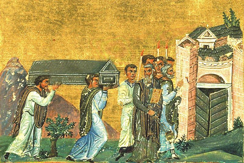 Burial of St. Ignatius of Antioch