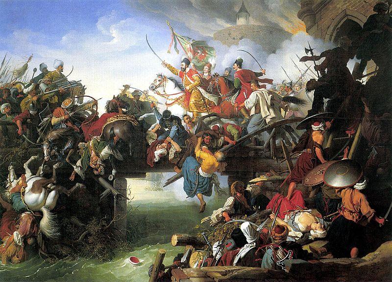 Nikola Šubić Zrinski's Charge from the Fortress of Szigetvár