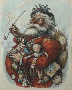 Santa Claus by Thomas Nast