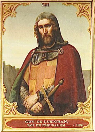Guy de Lusignan, count of Tripoli.